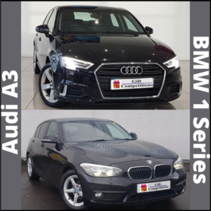 Luxury Prizes competitions and UK Raffle competitions,Win BMW 1 series or Audi A3 as Raffle prize